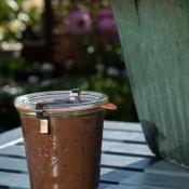 homemade bønne-chokoladecreme